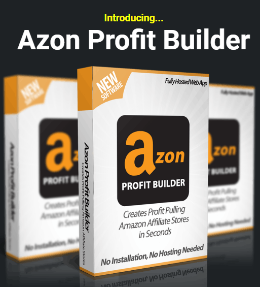 Azon Profit Builder ReviewUnlimited Sites License by