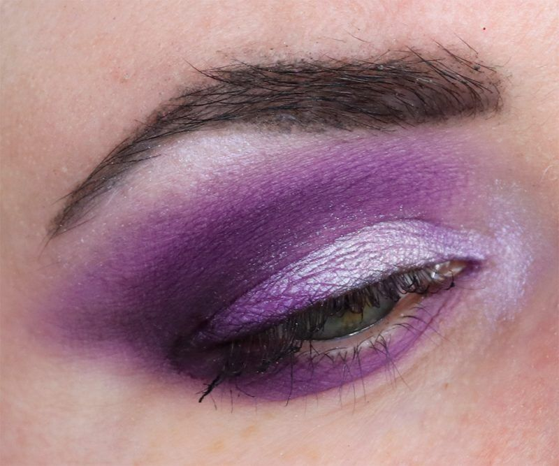 Makeup Geek Purple Eyeshadow Palette Makeup Ideas Hooded