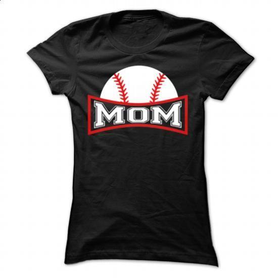 Baseball Mom - #plain t shirts #mens hoodie. ORDER HERE => https://www.sunfrog.com/LifeStyle/Baseball-Mom-80468770-Ladies.html?id=60505