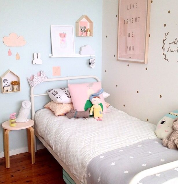 Chambre pastel chambre mila pinterest chambre enfant - Deco chambre pastel ...
