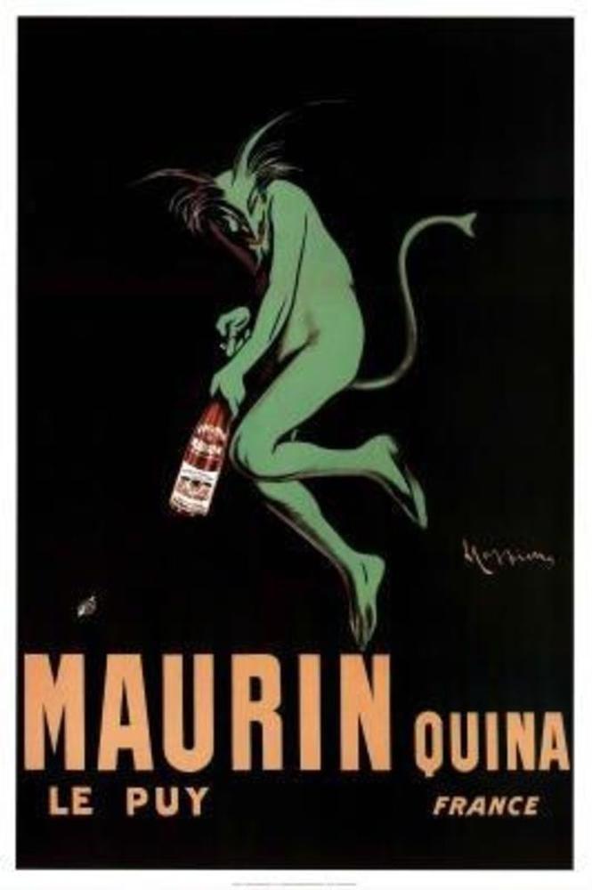 Leonetto Cappiello Maurin Quina Devil Art Deco Art Print Poster ...