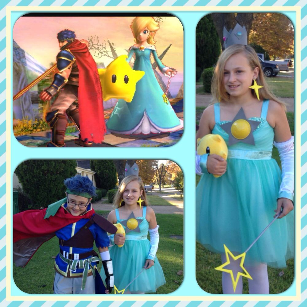 Halloween costumes , Super Smash Brothers. Rosalina \u0026 Ike
