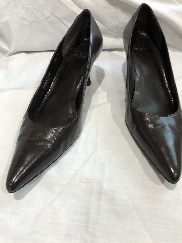 0a1946cd723b Stuart Weitzman Brown Pumps Heels 10.5 EUC Pointy Toe!  fashion  clothing   shoes  accessories  womensshoes  heels (ebay link)