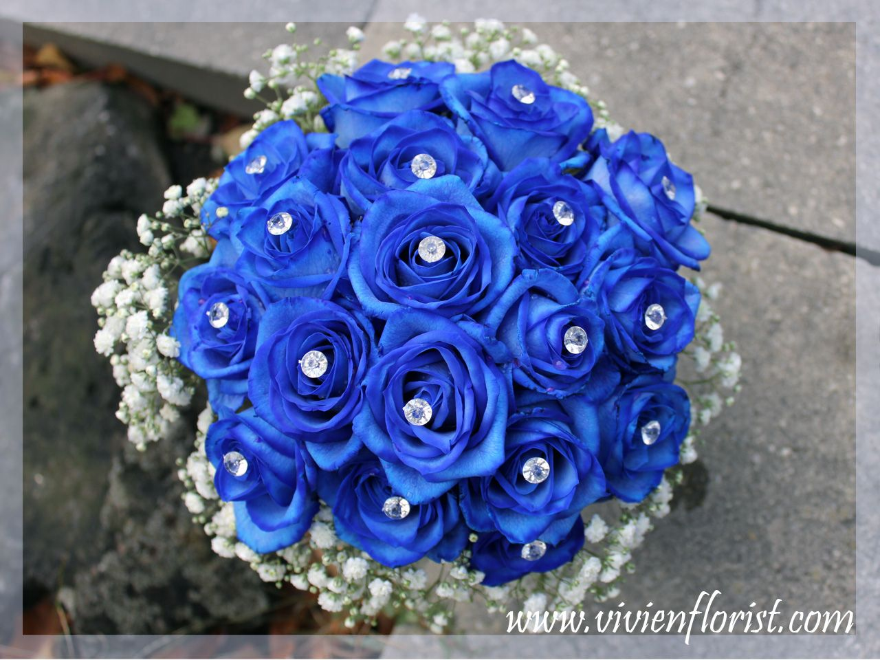 Here Are Not Many Blue Flowers Available There Are No