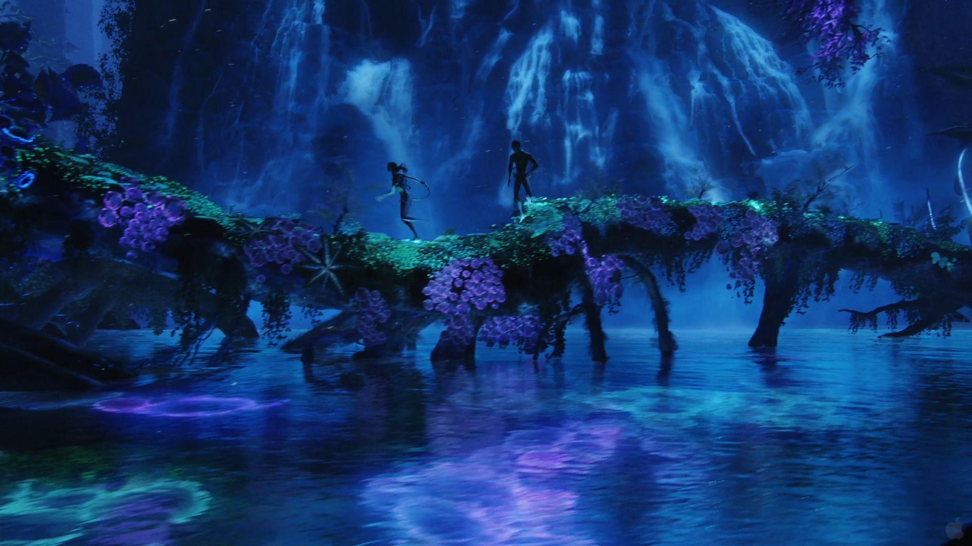 Planet Pandora Blue Lagoon From Avatar Wallpaper Click