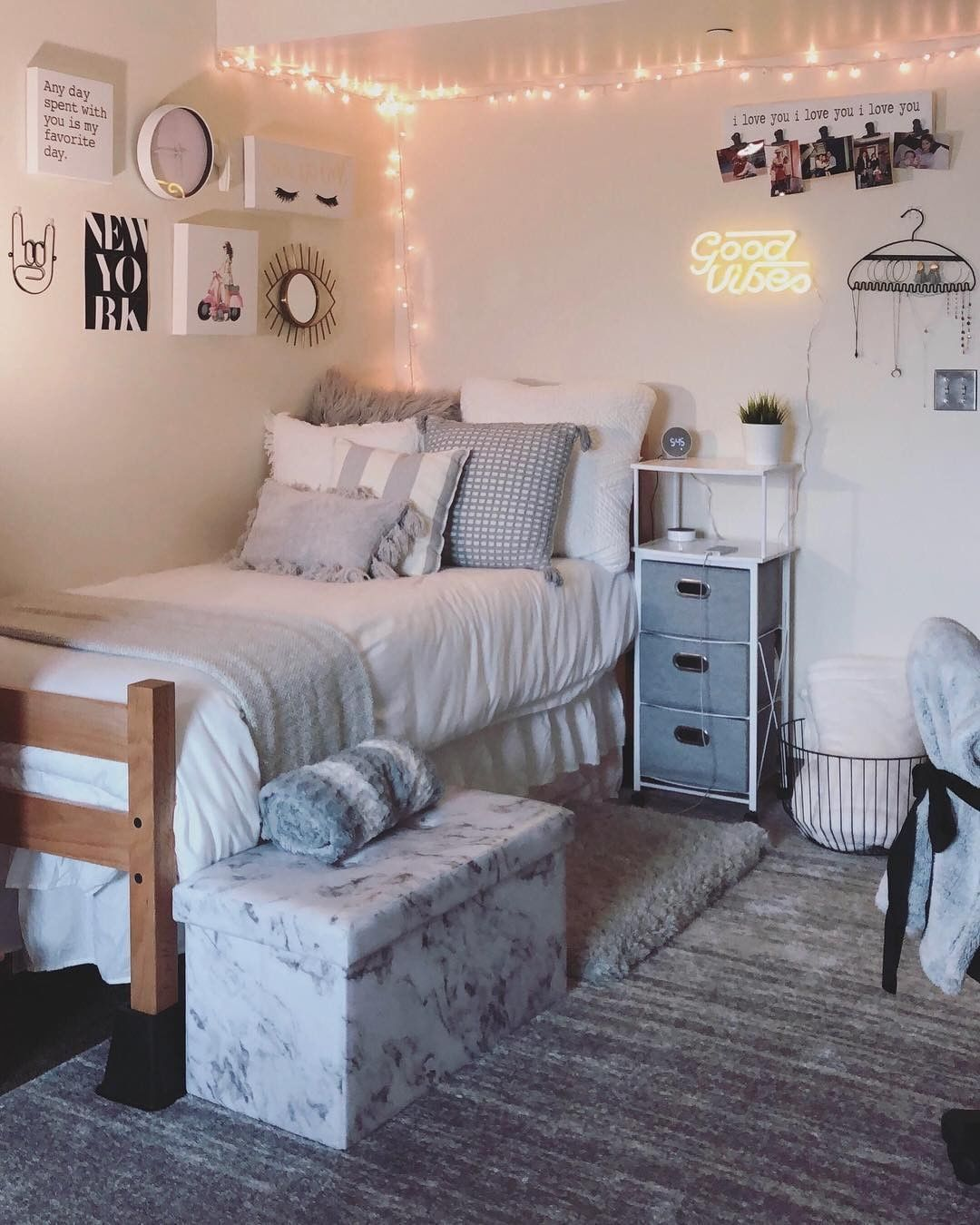 15 Best Dorm Room Ideas You Need To Copy College Dorm Room Decor Dorm Room Inspiration Dorm Room Designs Dorm room decoration ideas