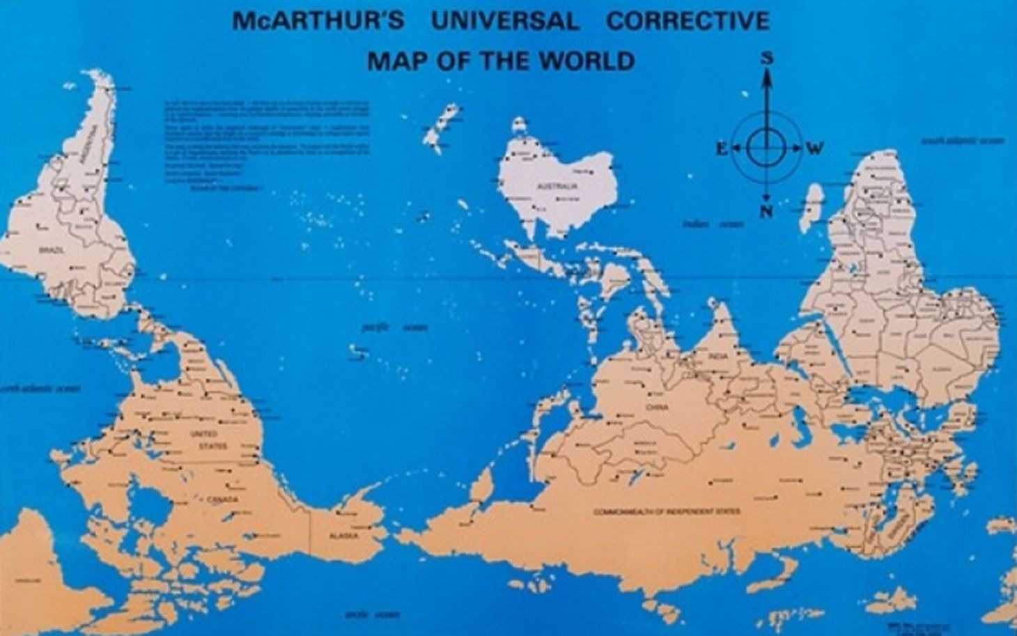 OPINION How the north ended up on top of the map Map