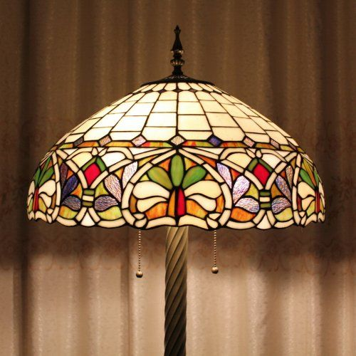 Tiffany 20-inch European-style stained glass floor lamp 3 Fresh garden bulbs  type :Floor lamps   style :Tiffany  Model: 20S229 – 20BF5I  light source:E27  The number of bulbs :3 power consumption per bulb :Max 60W  Whether with a light source: No   voltage: 110V-120V  Crafts: handmade from genuine stained- glass. color :Stained glass  light body material :Alloy  shadow material :Glass    Delivery time 8-13 days Delivery time 8-13 days  Return range 30 days    Please contact us if yo..