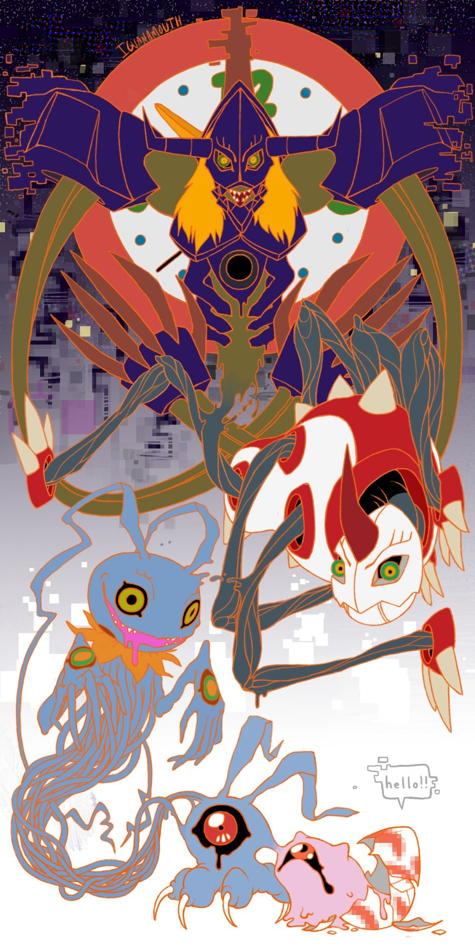 Diaboromon's Phases | Digimon | Pinterest | Digimon ...