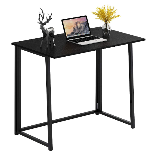 4nm Folding Desk No Assembly Small Computer Desk Home Office Desk