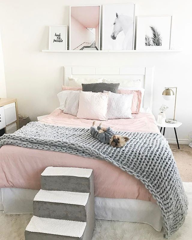 pin on bedrooms on grey and light pink bedroom decorating ideas id=21093