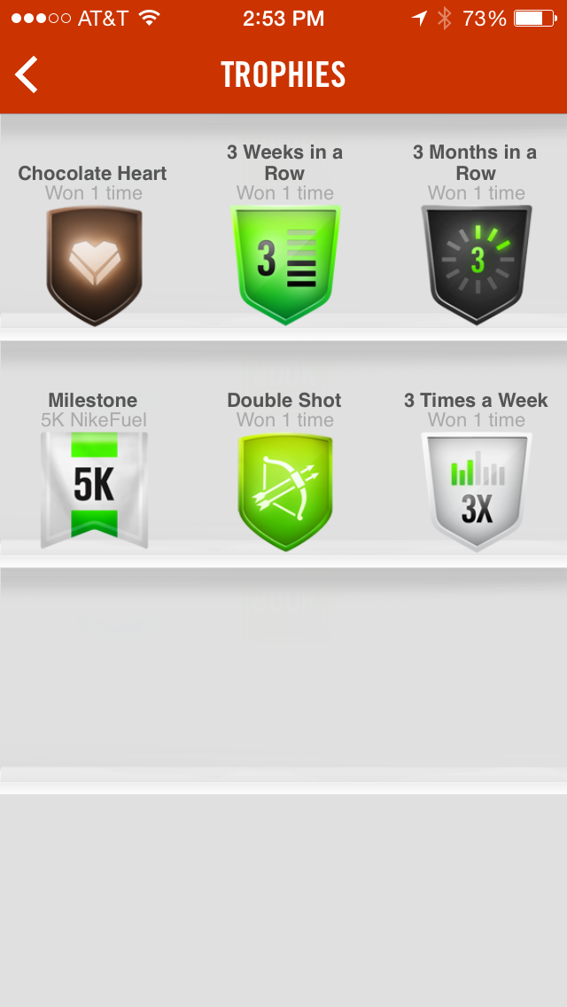 Cargado Involucrado función  Nike Running App: Achievement Badges | App badges, Badge, Good running form