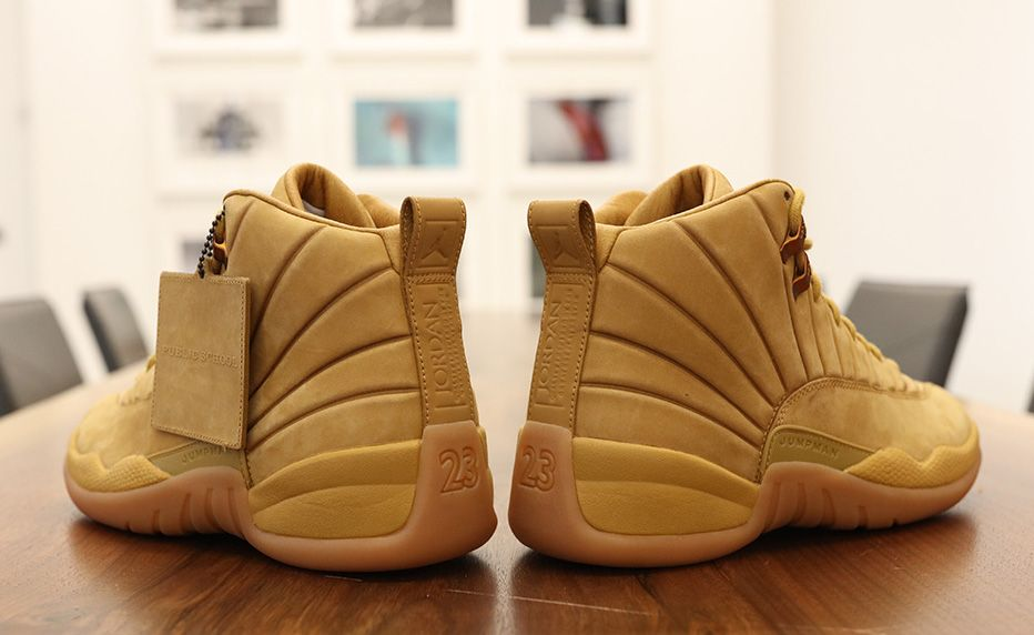 660e72a7b68 PSNY Air Jordan 12 Wheat Release Date. Public School has announced that the  PSNY x Air Jordan 12 Wheat will be releasing this Summer 2017 at select  shops.