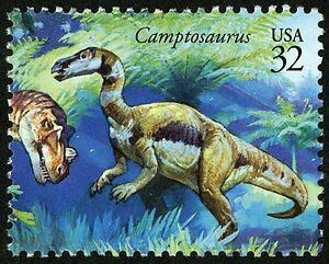 32c Camptosaurus single