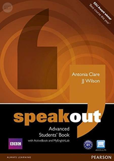 . Speakout Advanced Students  Book with DVD/active Book and MyLab Pack ISBN-13: 9781408276051 en…