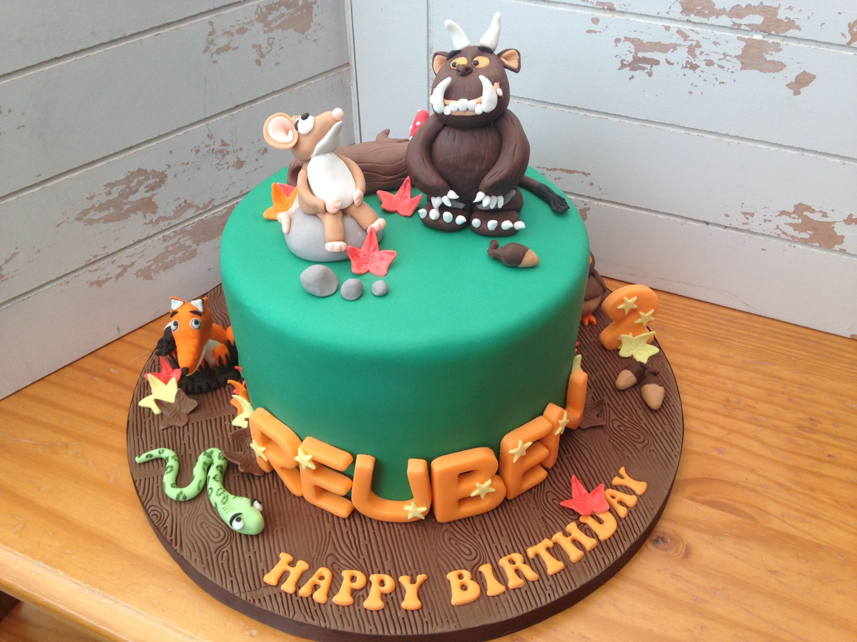 Our Gruffalo inspired Cake for Reuben\'s 2nd Birthday Party earlier ...