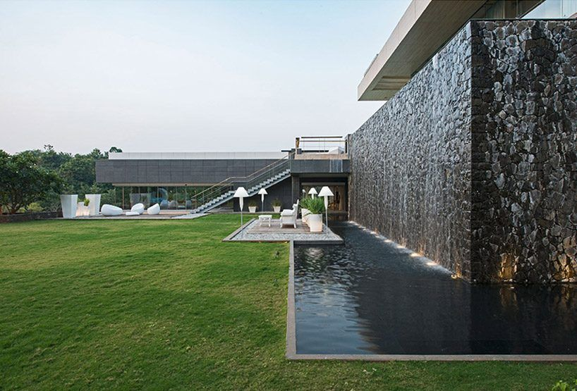 shroffleon designs rooftop infinity pool with uninterrupted views of mumbais landscape