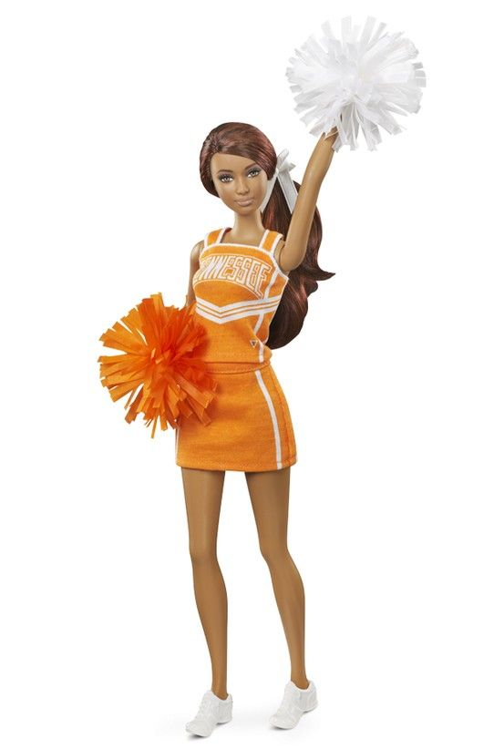 University of Tennessee Barbie Doll - African American (2013)