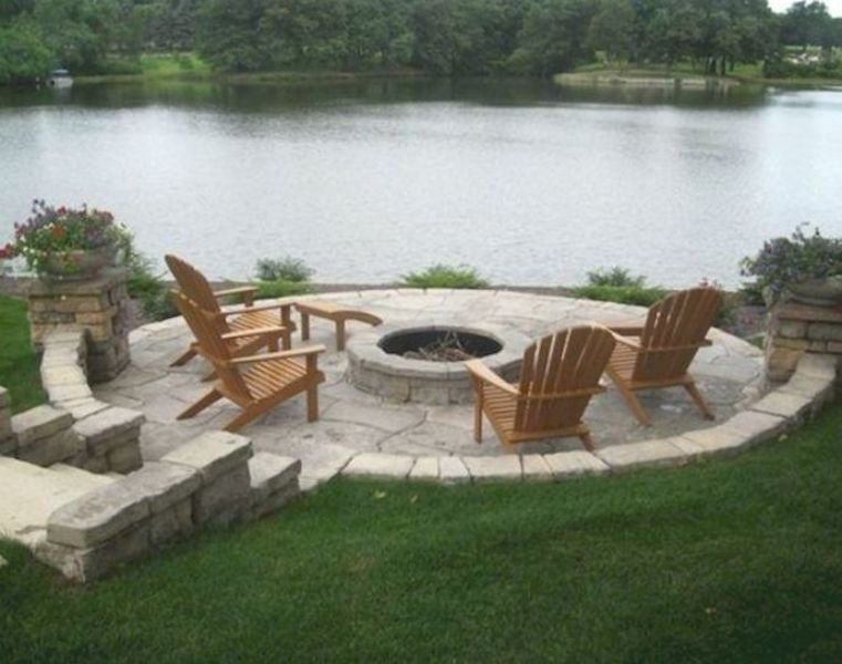 17 Easy and Cheap Fire Pit and Backyard Landscaping Ideas ...