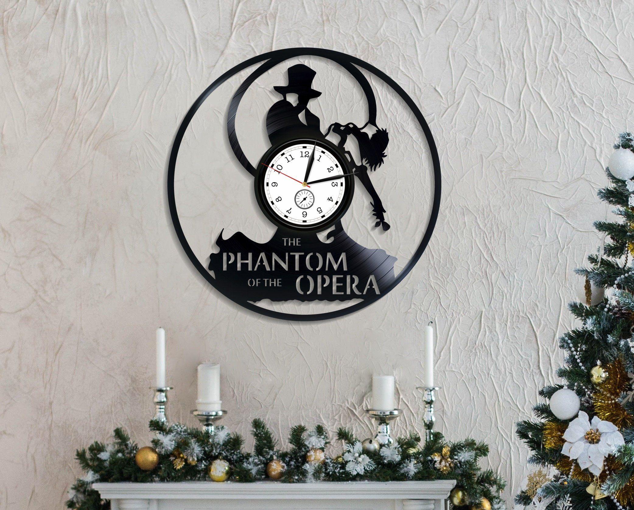 Phantom Of The Opera Phantom And Christine Phantom Of The Opera Retro Art Silhouette Art