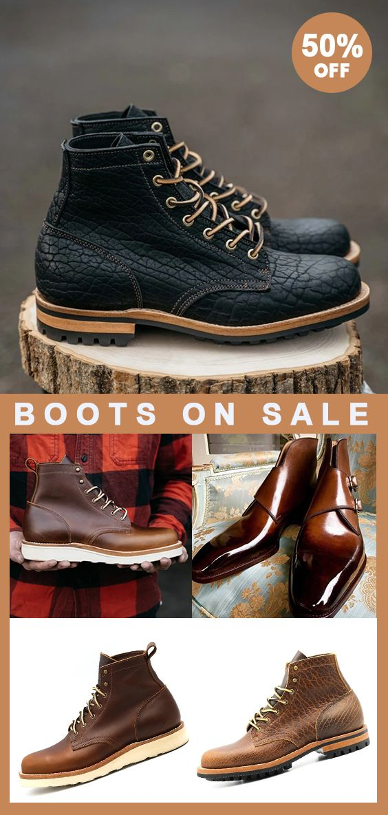 Casual Men Ankle Boots 50 OFF Limited Time! Shop
