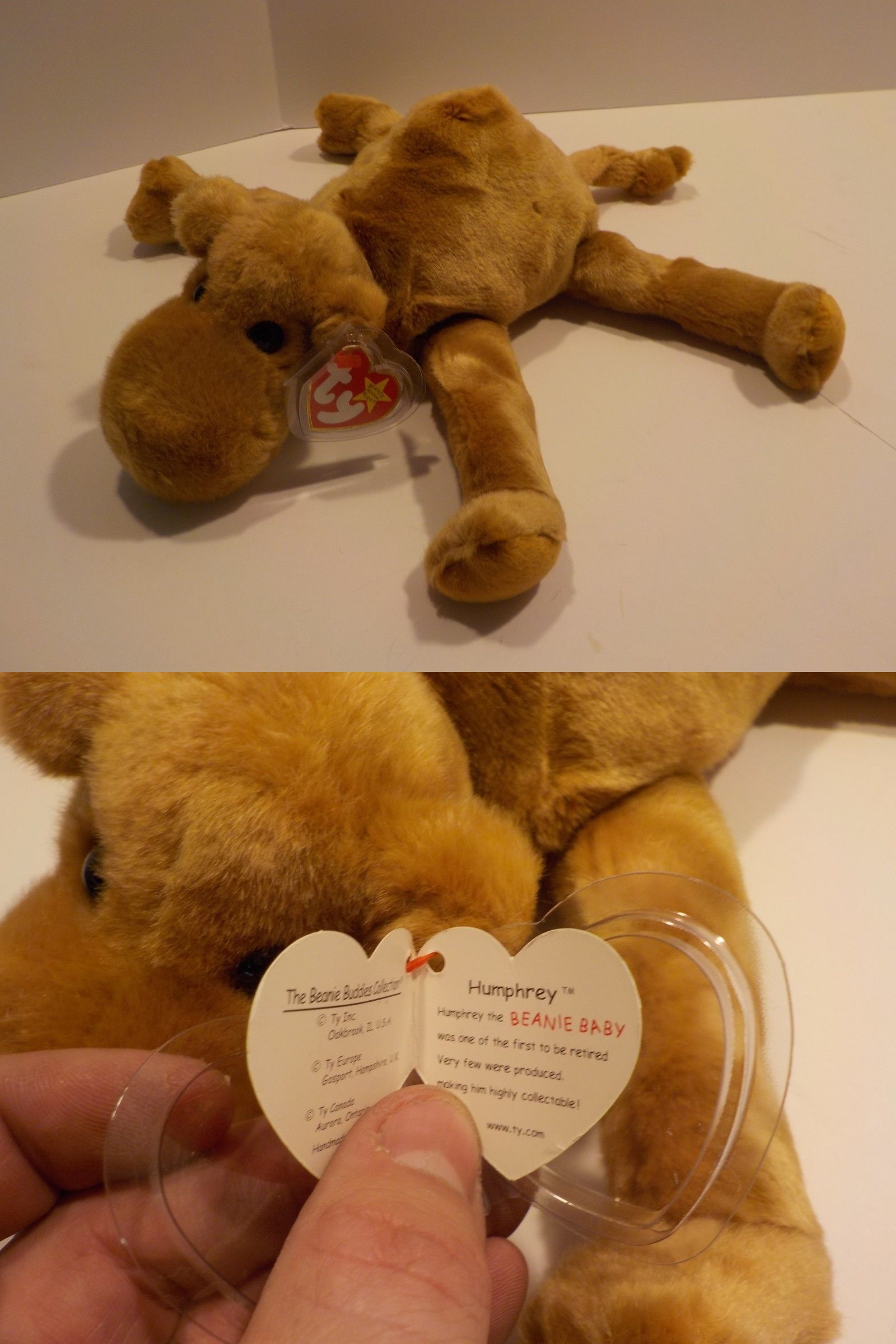 6fa2924e98d Retired 19207  Ty Beanie Buddy - Humphrey Camel (14 Inch) 14 Plush New W  Tag -  BUY IT NOW ONLY   12.14 on  eBay  retired  beanie  buddy  humphrey   camel   ...