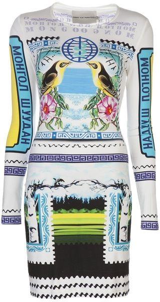 Jersey Dress - Lyst