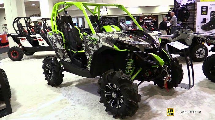 2015 Can Am Maverick 1000r Side By Side Atv At 2014 Toronto Atv Show Atv Can Am Monster Trucks