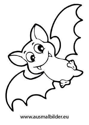 Ausmalbild Halloween Putzige Fledermaus In 2020 Halloween Ausmalbilder Malvorlagen Halloween Fledermaus Ausmalbild