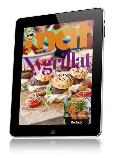 Allt om Mat, created using the Mag+ platform, is one of the most popular Swedish food magazines available digitally on the iPad.