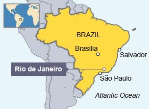 rio de janeiro brazil map - Google Search | Brazil, Rio de Janeiro ...