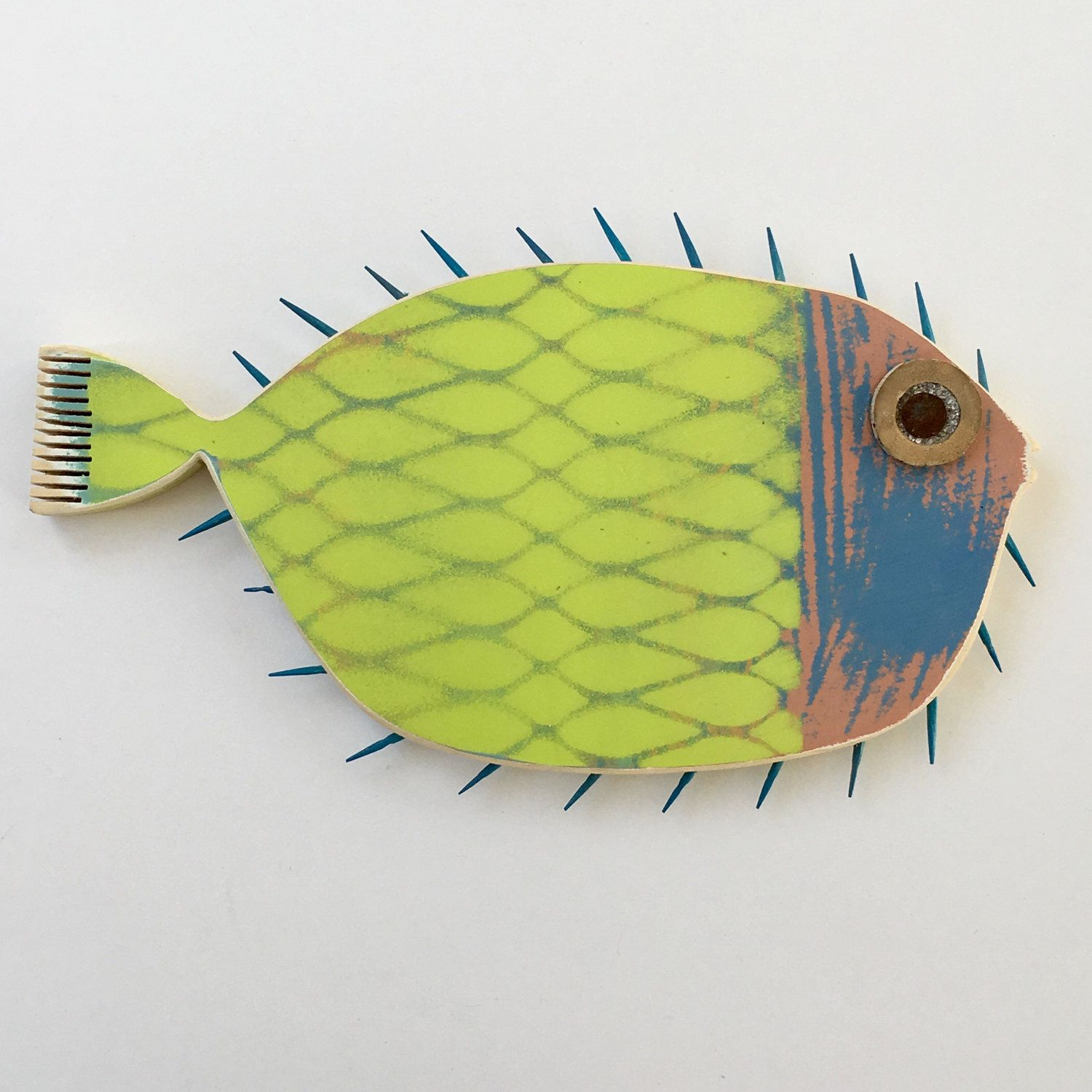 Funky Fish Wall Decor Photo - Art & Wall Decor - hecatalog.info