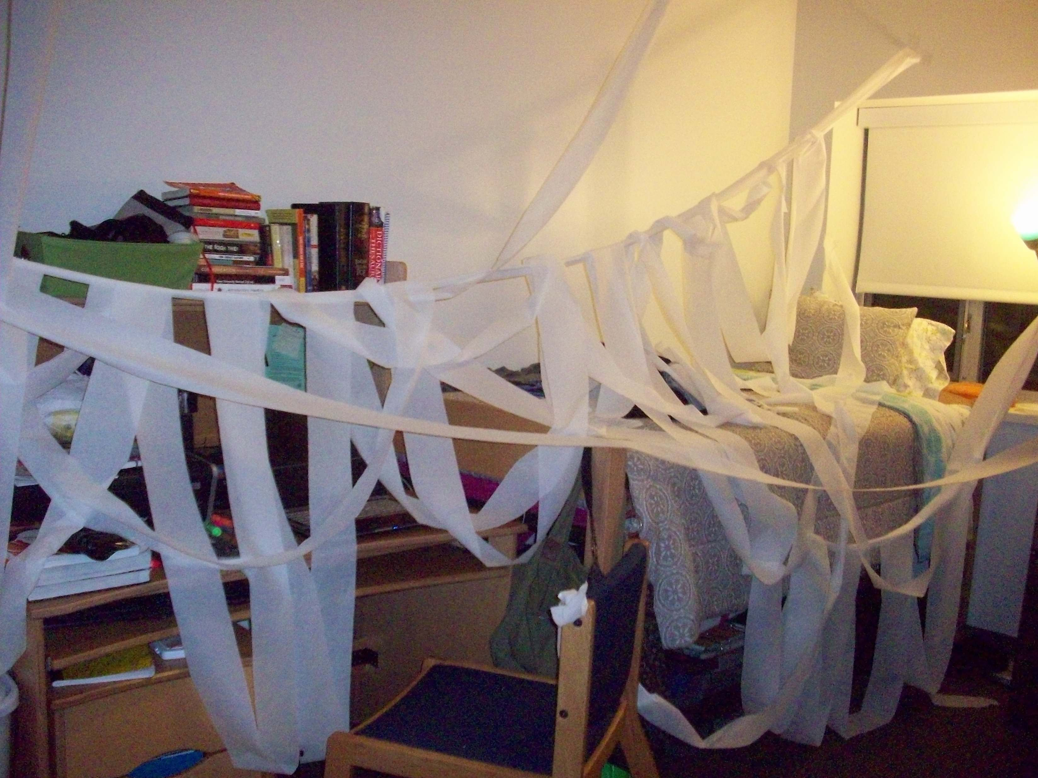 so i left my dorm room for maybe 10 or 20 minutes and i  ~ 130731_Funny Dorm Room Prank Ideas