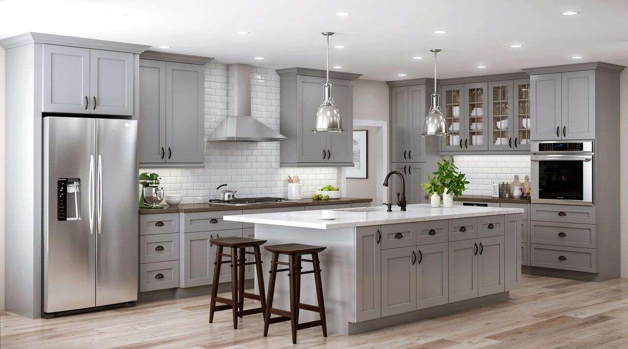 virtual grey bar cabinet virtual grey bar cabinet sherwin williams 3 neutral farmh on kitchen decor grey cabinets id=25914