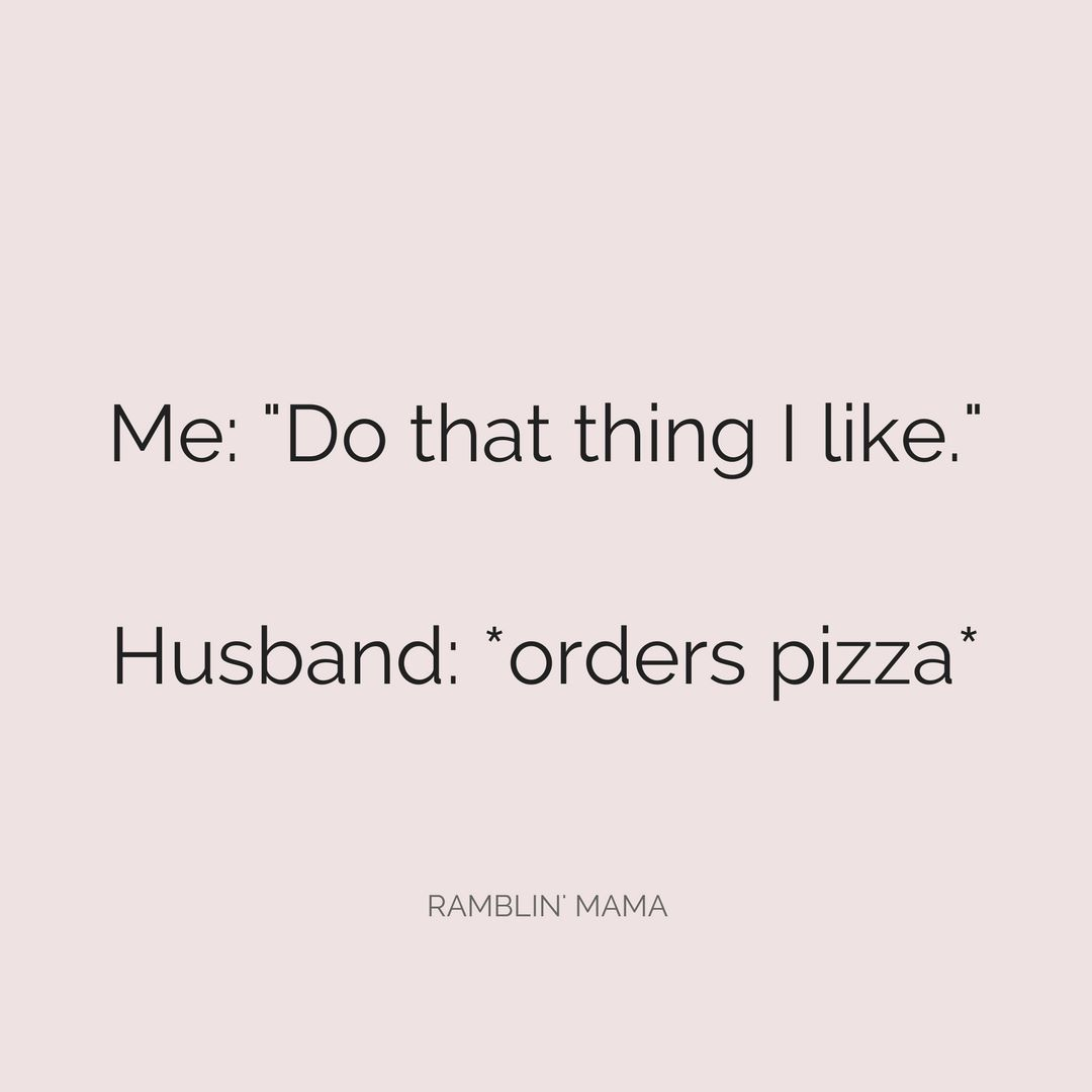 Dear future husband. Don't forget the Hot Wings