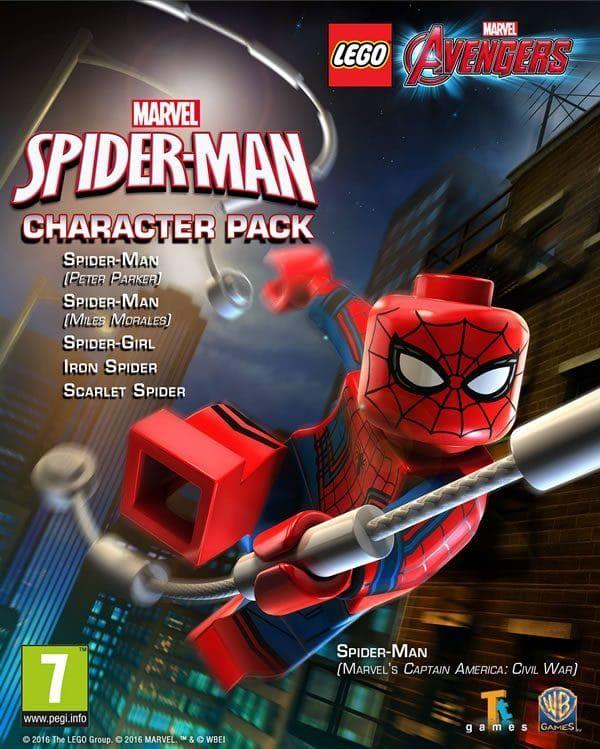 Lego Marvel S Avengers Spider Man Dlc Lego Marvel Lego Marvel S Avengers Lego Spiderman