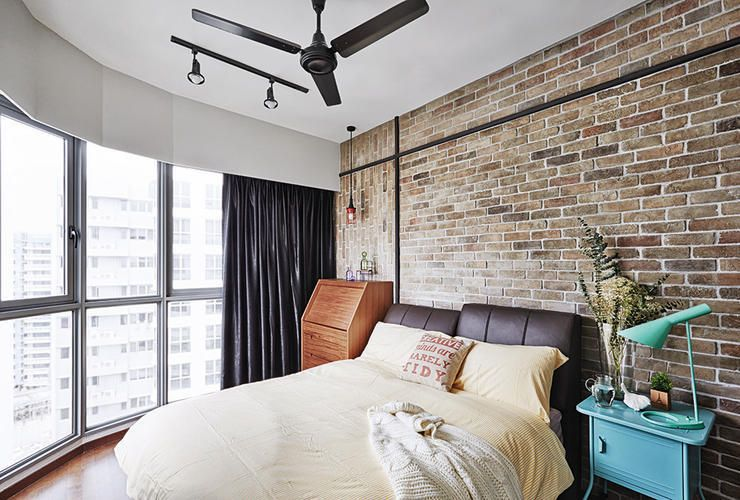 House Tours: Three flats, three industrial-rustic looks