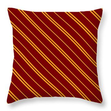Hogwarts Gryffindor Pattern 8 Throw Pillow for Sale by Black Gryphon