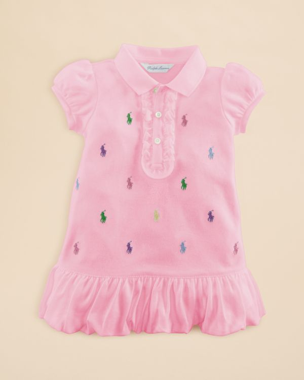 30ddf1793 Ralph Lauren Childrenswear Infant Girls  Schiffli Polo Dress - Sizes ...