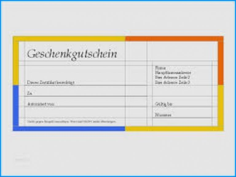 Scheck Vorlage Word Kostenlos Em 2020