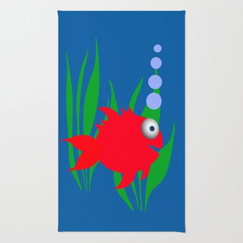 Goldfish Area & Throw Rug