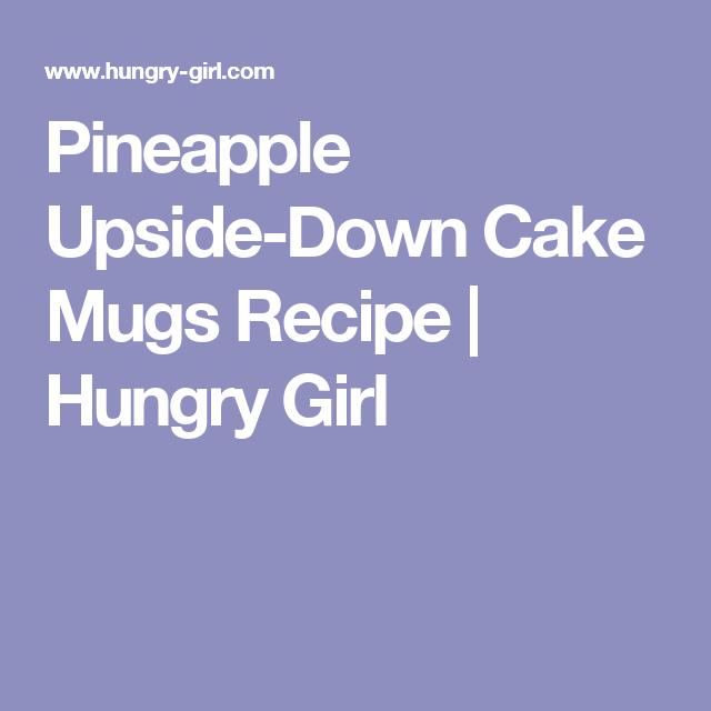Pineapple Upside-Down Cake Mugs