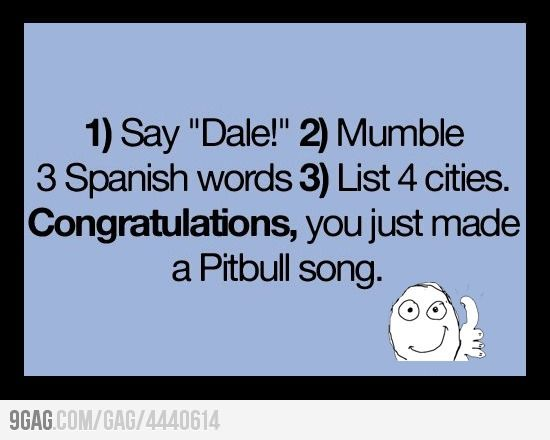 How To Make Your Own Pitbull Song Pitbull Songs Haha Funny Funny