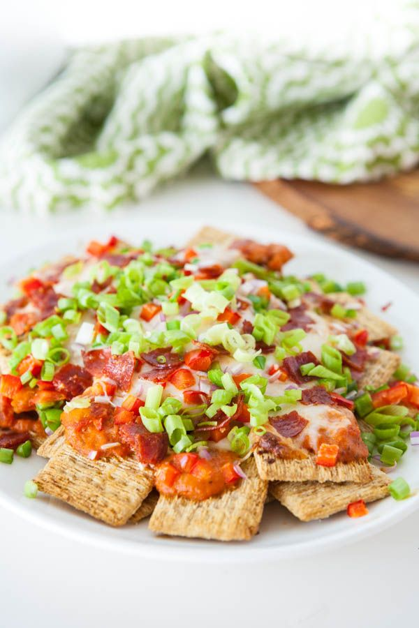 Triscuit Pizza Nachos? Can't wait to try it!