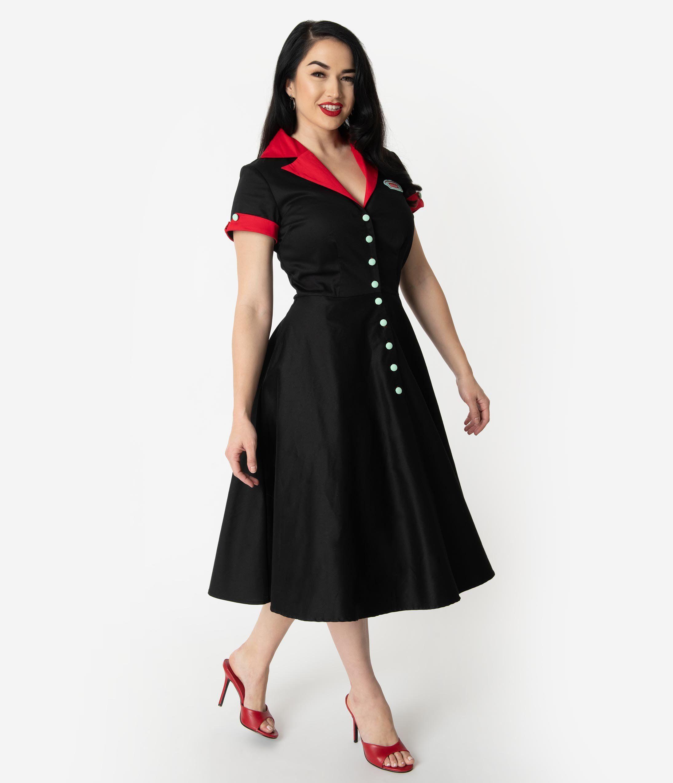 1950s Dresses 50s Dresses 1950s Style Dresses Vintage Inspired Dresses Diner Dress Vintage Dresses Online [ 2550 x 2190 Pixel ]