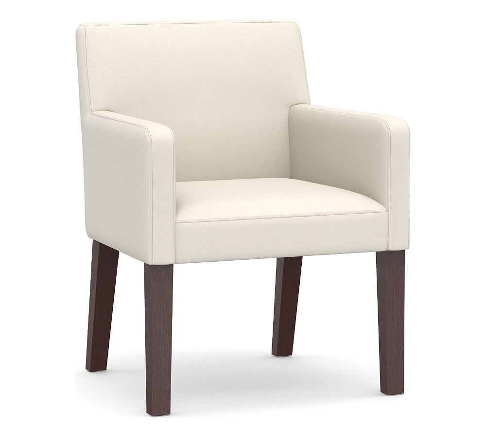 Pb Classic Upholstered Dining Armchairs Dining Arm Chair