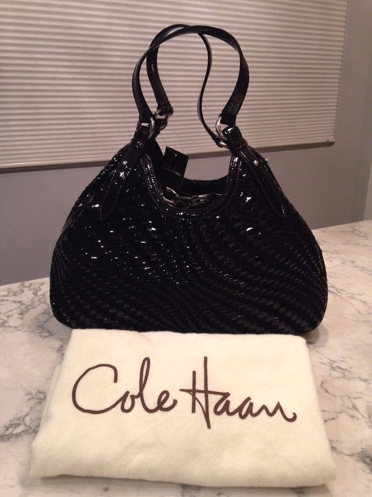 ac2d5d2817 Cole Haan Genevieve NWT! Woven Leather Weave Hobo Tote Shoulder Hand Bag  Purse #ColeHaan #TotesShoppers ABSOLUTELY STUNNING!!! VERY RARE!!! NEW WITH  TAGS!!!