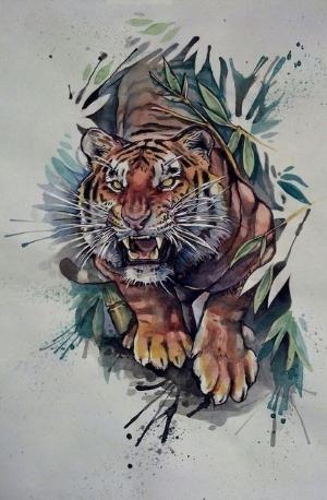 Crochet Sneakers Free Pdf Pattern Tiger Drawing Tiger Tattoo Design Tattoos
