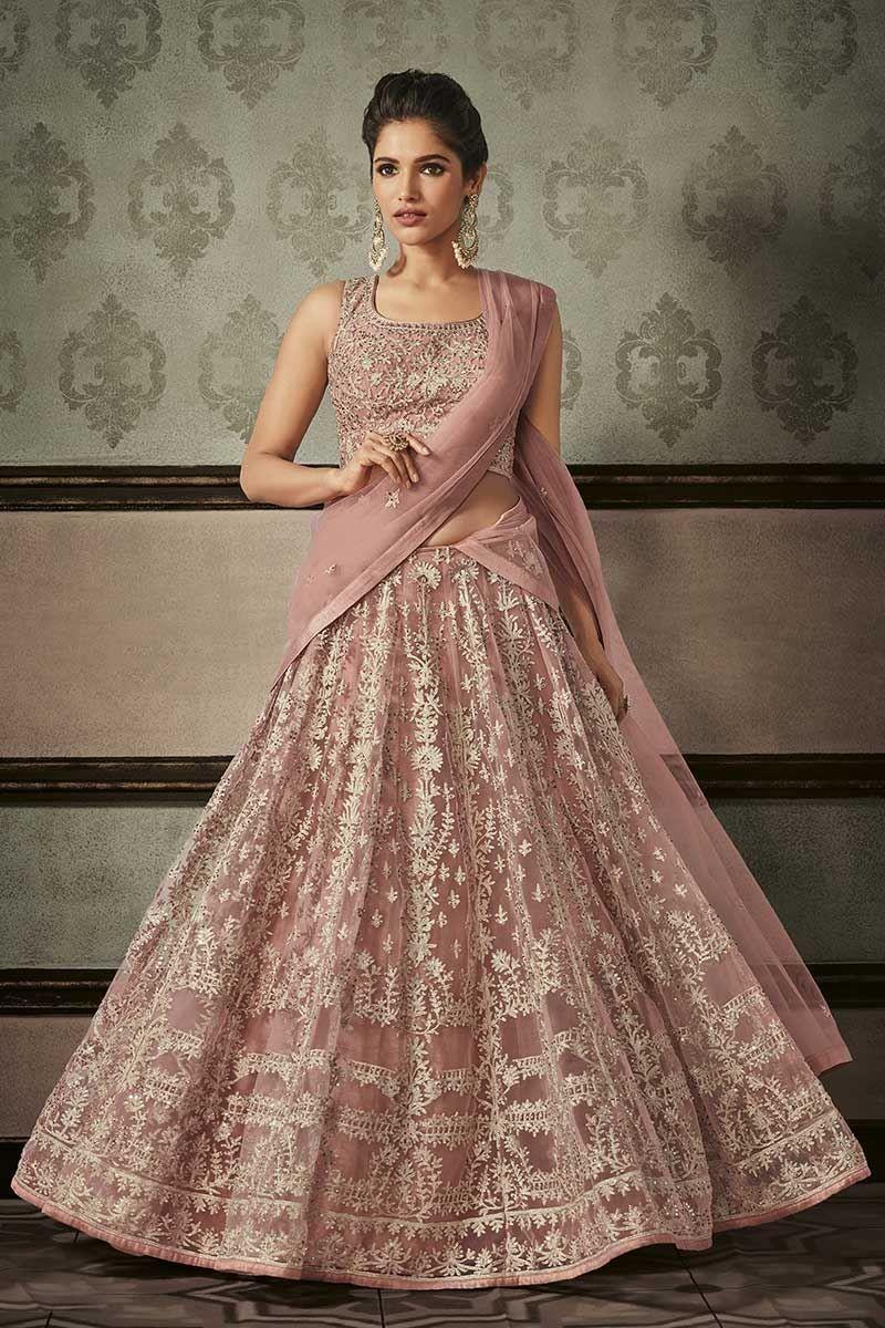 3d7ce52c76 Sassy pink designer bridal lehenga choli in 2019 | Indian wedding ...