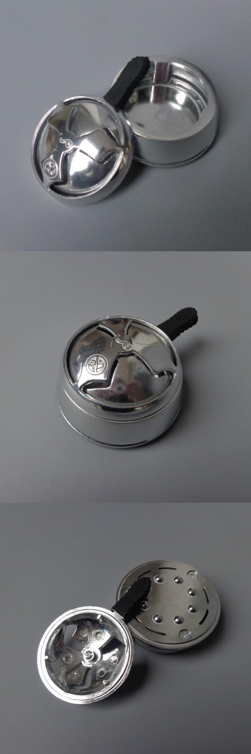 Smoking Tool Alloy Carbon Spacer Shisha Hookah Shisha Pipes Bowl